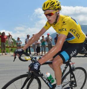 Chris Froom dans la montée du Ventoux
