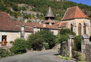 Le village d'Espagnac-Saint-Eulalie