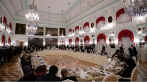 G 20 de Saint-Petersbourg - Le diner des chefs d'Etat