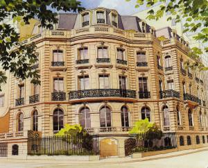 Paris - rue Albéric Magnard