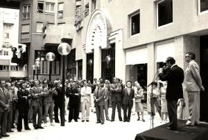Inauguration du Quartier de l'Horloge