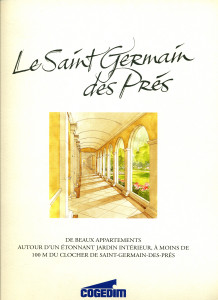"Brochure du ""Saint-Germain-des-Prés"