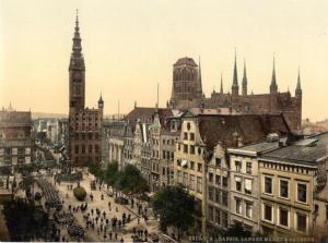 La ville de Dantzig