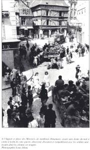 L'entrée des Américains dans la ville de Dinan