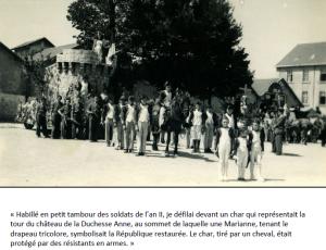 5 août 1945 défilé