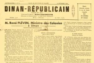 1944, septembre, le Dinan-Républicain