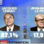 Chirac Le Pen. 2PNG
