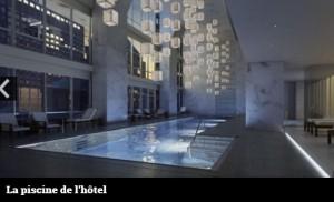 One 57 - La piscine
