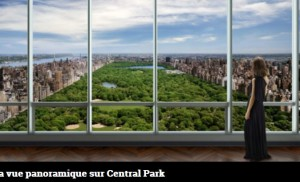 One 57 - vue sur Central Park