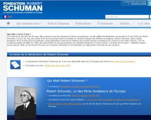 Le site de la Fondation Robert Schumann