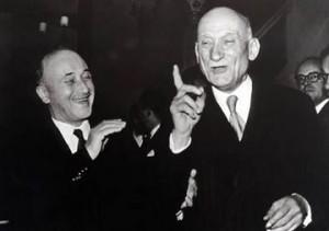 Robert Schumann et Jean Monnet