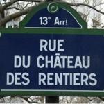 rue du chateau des rentiers