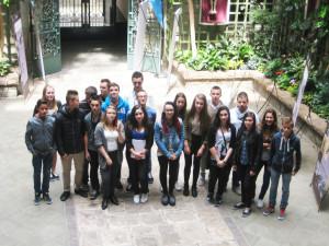 La classe de 3e A du collège Broussais