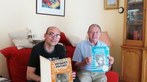Avec Thierry Chevrier, à Deauville, le 8 juillet