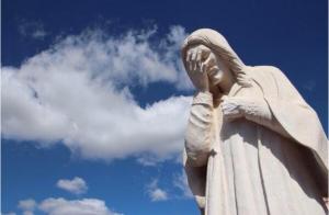 Le Christ rédempteur en larmes