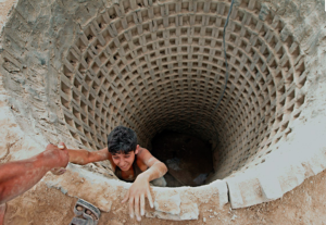 Tunnel à Gaza