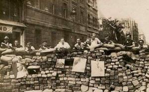 Libération de Paris - barricades