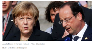 Merkel et Hollande