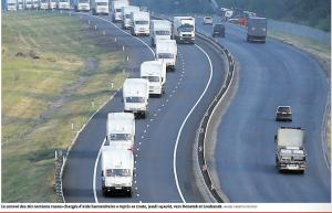 En Ukraine, convoi humanitaire russe