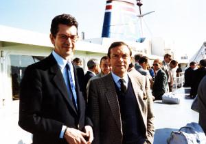 1987 - Avec Jacques, entre Vancouver et la Colombie-Britannique