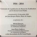plaque centenaire Pradel 10