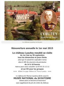 Sur le site de la Fondation Lyautey