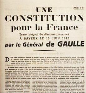 une constitution pour la France