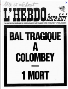 Bal tragique à Colombey