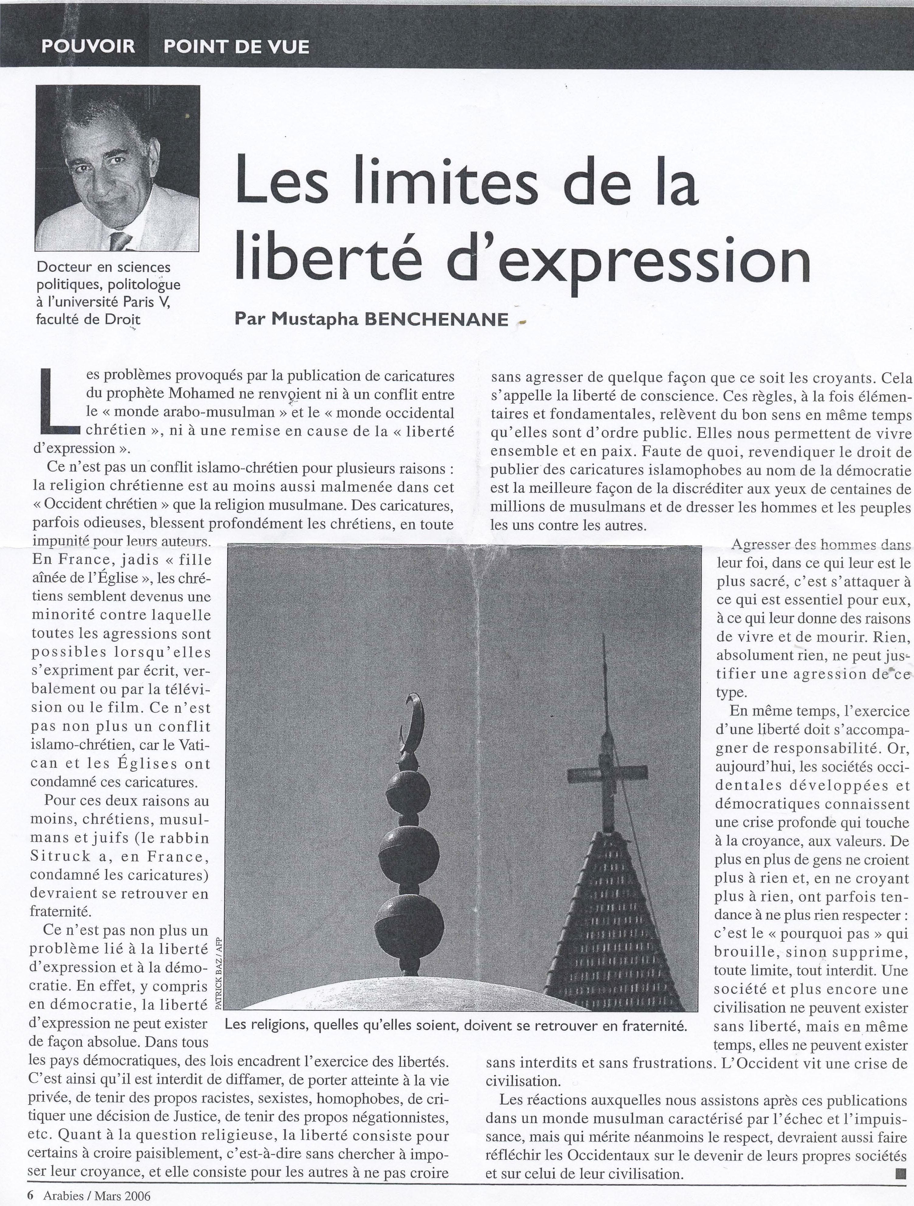 Ami de la liberté - Michel Cosem