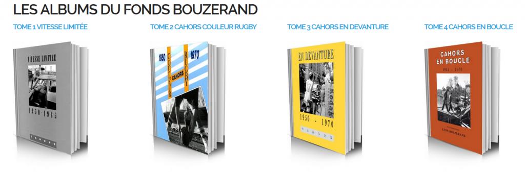 """Les albums du fonds Bouzerand édités par """"Vitesse limitée"""""""