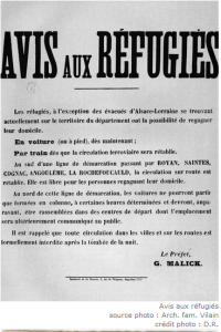 Affiche en 1939
