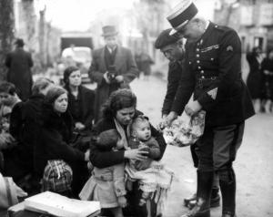 Le contrôle des réfugiés en 1939