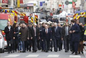 Le ministre de l'Intérieur à Saint-Denis