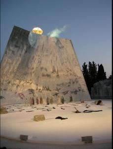 Deux ex machina -représentation théâtrale en 2009 à Syracuse