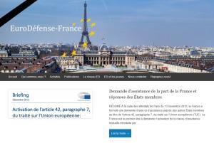le site d'Eurodéfense