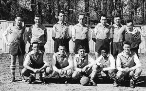 L'équipe de football de Cahors en 1954