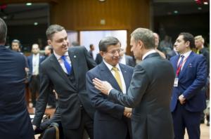 Réunion des chefs d'Etat et de gouvernement du 18 mars avec la Turquie