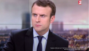 Emmanuel Macron à France 2
