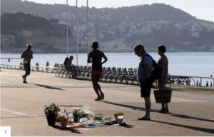 Nice - La Promenade des Anglais après l'attentat