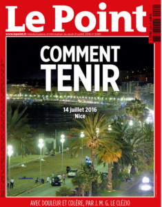 cover du Point du 20 juilet 2016