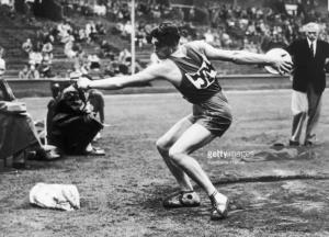 Ignace Henrich en 1948 aux Jeux de Londres