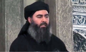 al-Baghdadi, calife de Mossoul