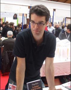 Hugo Boris à la foire aux livres de Brive en 2010