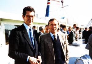 Avec Jacques, en 1987, entre Vancouver et la Colombie Britannique