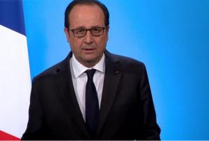 François Hollande le 1er décembre 2016